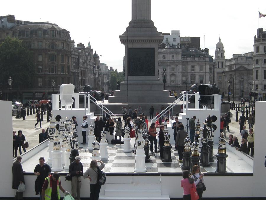 Inauguració de l'instal·lació dins la setmana del diseny de Londres 2009.