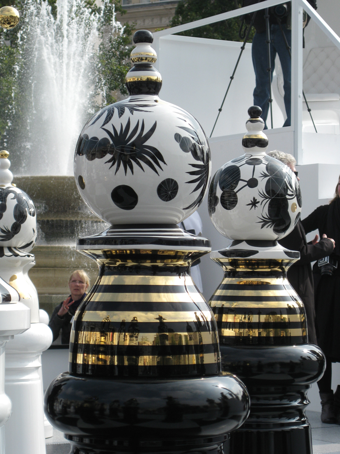 Les figures de porcelana de Bossa.