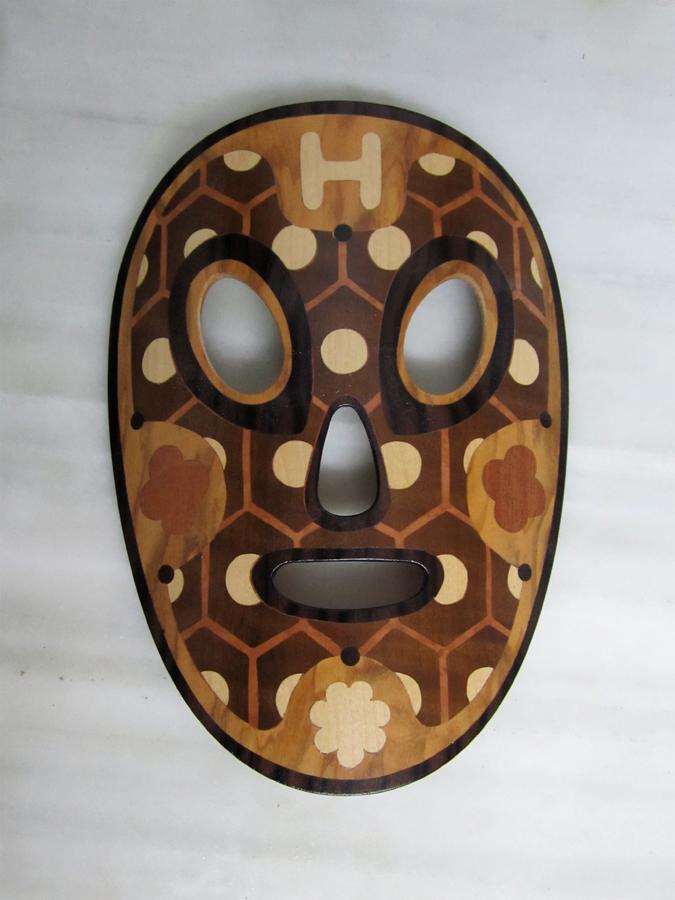 Màscares de marqueteria