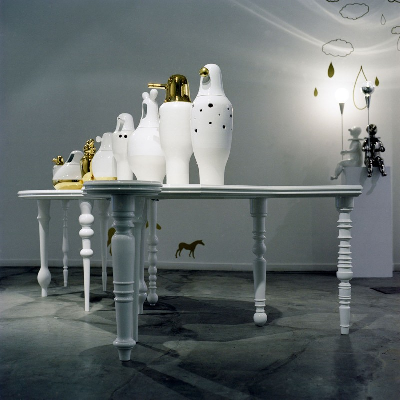 Una altra vista de la taula. Fotografia de Nienke Klunder.
