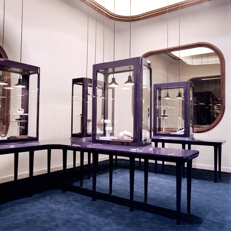 Les taules amb vitrina. Fotografia de Nienke Klunder.