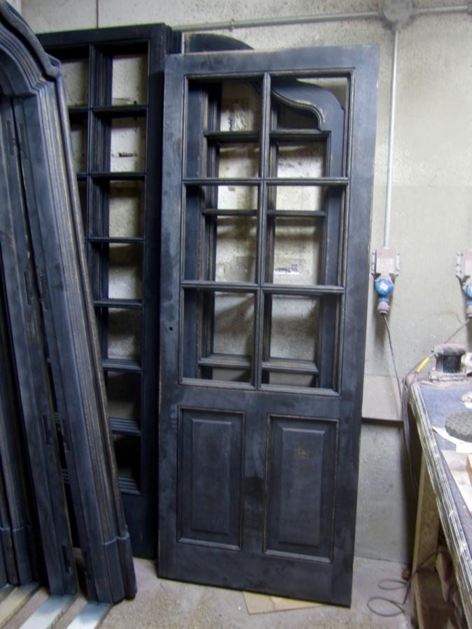 Les portes en procés de lacat.